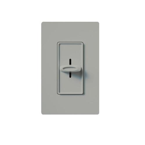 Designer Slide Wall Switch, Gray