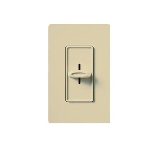 Designer Slide Wall Switch, Ivory