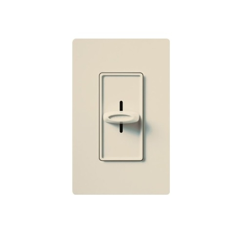 Designer Slide Wall Switch, Light Almond
