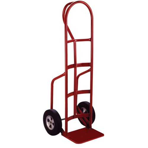 heavy duty hand truck with p handle wheel solid rubber - Heavy Duty Hand Truck