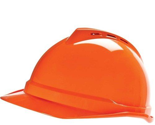 Hi-Viz Orange V-Gard 500 Protective Caps