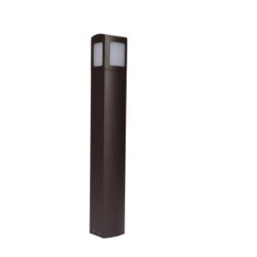 6-Ft 24W LED MPulse Bollard Fixture, 0-10V Dim, 100W MH Retrofit, 1606 lm, 5000K