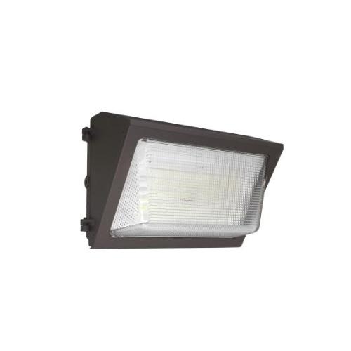 28W LED Wall Pack w/ Battery Backup, 150W MH Retrofit, 3640 lm, 5000K, Bronze