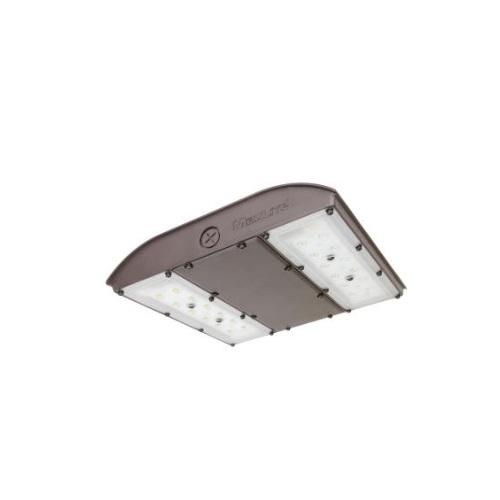 56W LED Canopy Light w/ Battery Backup & Sensor, 250W MH Retrofit, 6655 lm, 5000K