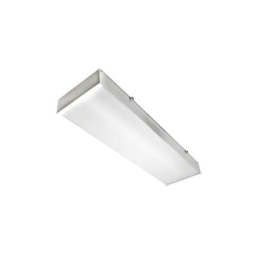 25W LED Utility Wrap w/ Motion Sensor and Remote, 2x17W T8 Retrofit, 5000K