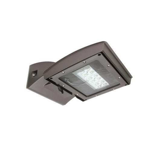 28W LED Wall Light w/ 0 Deg Backup & Motion Sensor, Type IV, 3230 lm, 120V-277V, 3000K