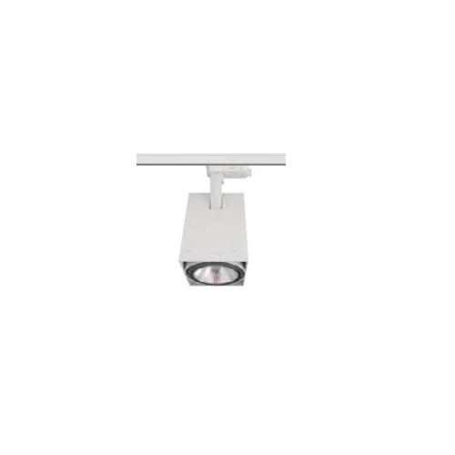 40W LED Track Light, Square, E26 Base, White