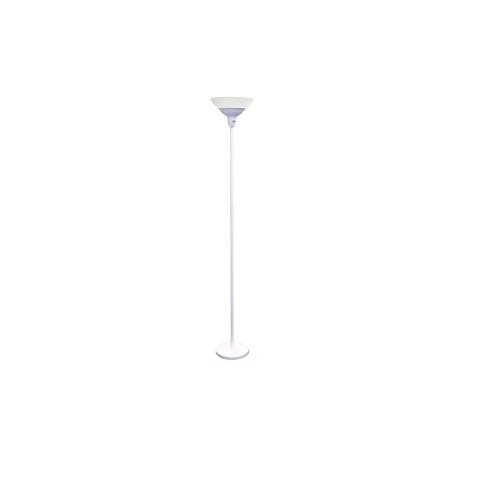 22W LED Floor Lamp, 100W Inc Retrofit, 1900 lm, 2700K