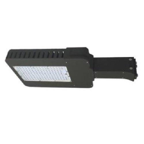 100W 4000K Type III LED Slim Area Light w/ Straight Arm