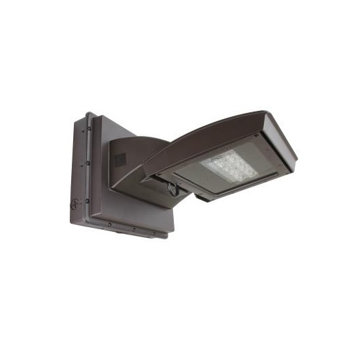 55W LED Wall Light w/ 0 Deg Backup, Type IV, 6250 lm, 120V-277V, 5000K