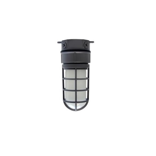 14.5W LED Vaporproof Jelly Jar w/ Ceiling Mount, 1100 lm, 5000K