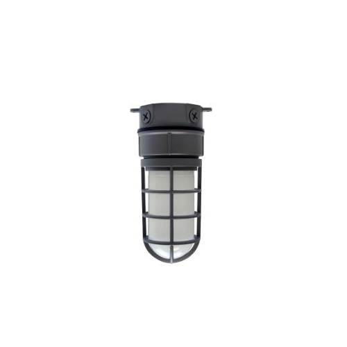 24W LED Vaporproof Jelly Jar w/ Ceiling Mount, 1890 lm, 5000K
