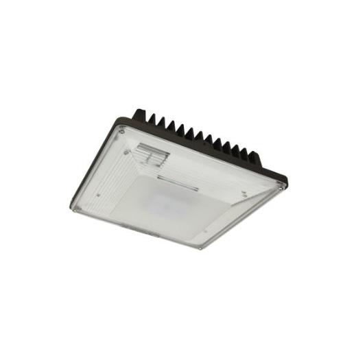30W LED Canopy Light Fixture, 150W MH Retrofit, Dim, 3142 lm, 4000K, Bronze