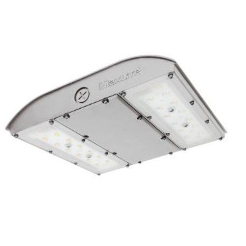 28W LED Canopy Light, Surge Protector, 0-10V Dim, 150W MH Retrofit, 3945lm, 3000K, Silver