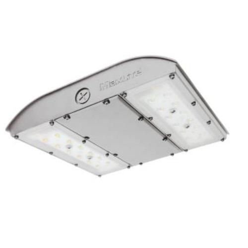 56W LED Canopy Light, Surge Protector, 0-10V Dim, 250W MH Retrofit, 6920lm, 3000K, Silver