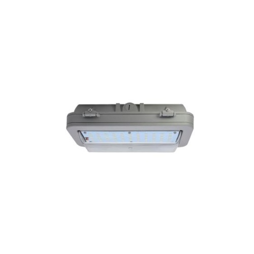 26W Hazard Rated LED Wall Pack, 70W HID Retrofit, 3199 lm, 4000K, Grey