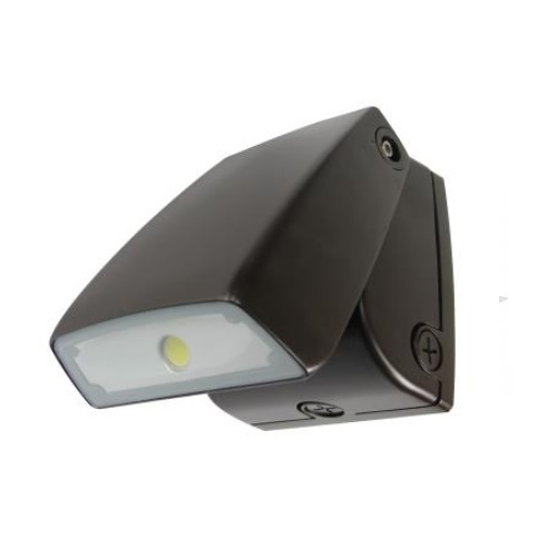 29W Small LED Wall Pack w/ Photocontrol/Surge Protector, 175W MH Retrofit, 2345lm, 5000K