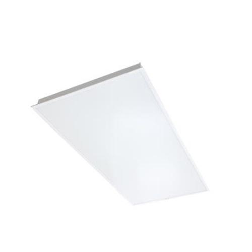 44W 2x4-ft Direct Lit LED Flat Panel, Side Mount Driver, 0-10V Dim, 4900 lm, 5000K