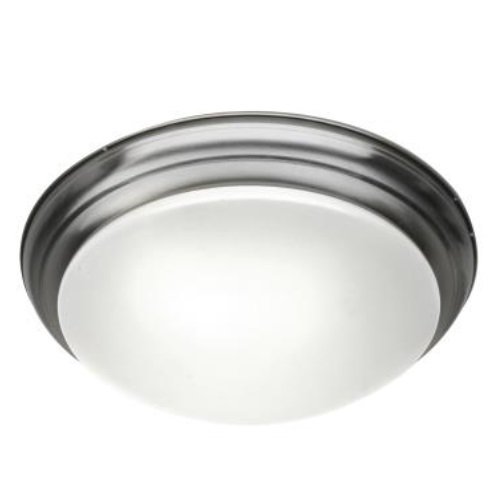17W LED Flush Mount Ceiling Light, 0-10V Dim, 75W Inc Retrofit, 1232 lm, 2700K