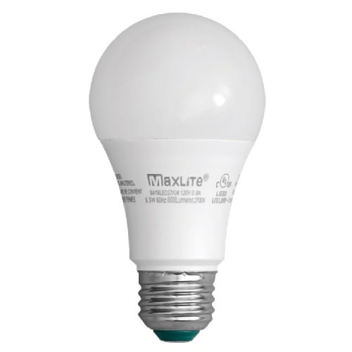 9.5W LED A19 Omni-Directional Bulb with E26 Base, 2700K