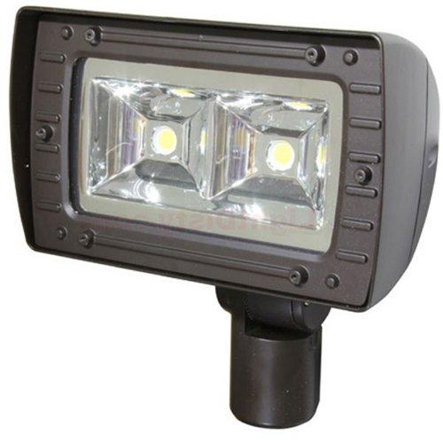 80W LED Architectural Flood Light, 4100K, 250W MH