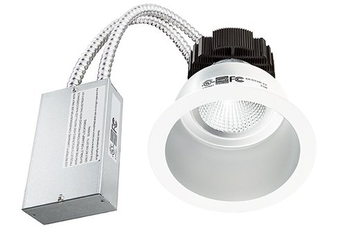 8 inch recessed lighting 4000k 64w inch led recessed downlight retrofit dimmable silver maxlite dimmable