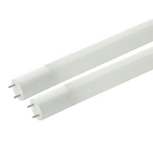 10 Yr Warranty, 16.5W 4 Foot T8 LED Ballast-Bypass Tube, 4000K, Glass