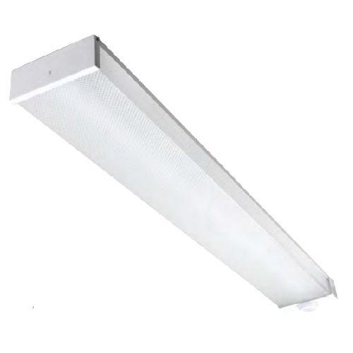 Led Utility Light >> Maxlite 20 W 5000k Led Utility Wrap Fixture 120 277v Motion Sensor 4 Ft By 6 75 In