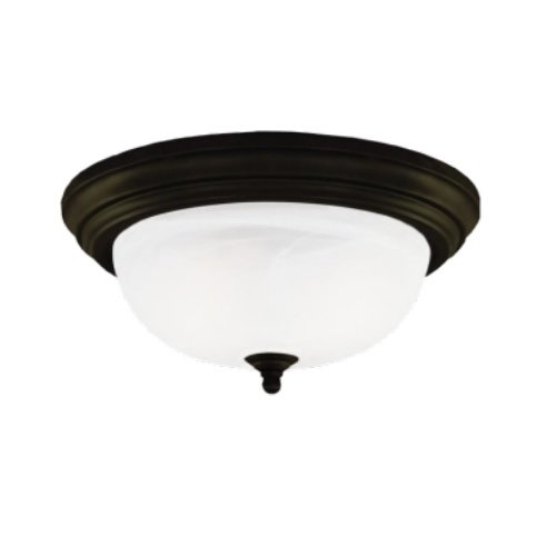 11 Watts 2700k Led Flush Mount Traditional Ceiling Fixture Oil Rubbed Bronze