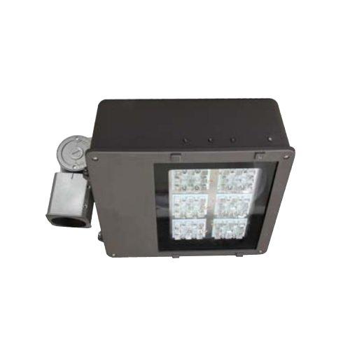 136 Watt LED Large Flood Light, 120-277V ,Type V, Bronze