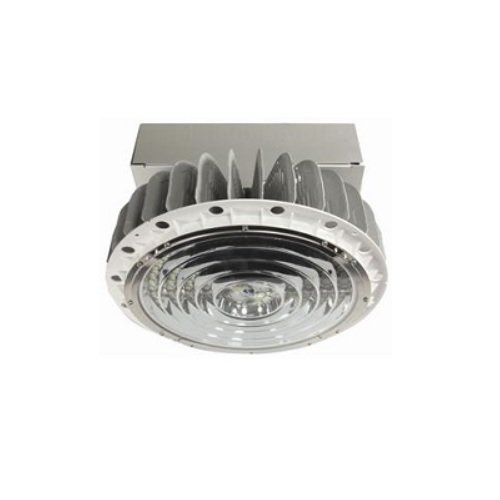 150W 5000K LED Round Pendant High Bay, Narrow Flood