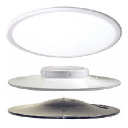 "45 Watts 3500K 24"" Diameter LED Round Pendant, White"