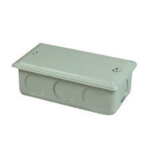 LED Lightbar Driven Shallow Connection Box, White