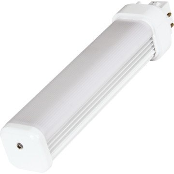 5W PL LED 4-Pin Horizontal Bulb With G24q Socket, 4000K