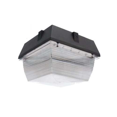 60W LED Canopy Ceiling Mount Light, 5258 lm, 4000K, Bronze