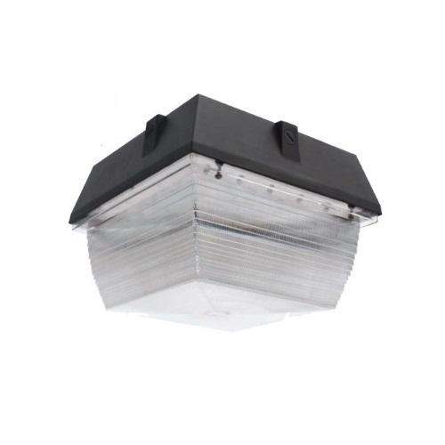 40W LED Canopy Ceiling Mount Light, 3429 lm, 4000K, Bronze