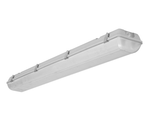29W 4' LED Vapor Tight Linear Fixture, 4000K