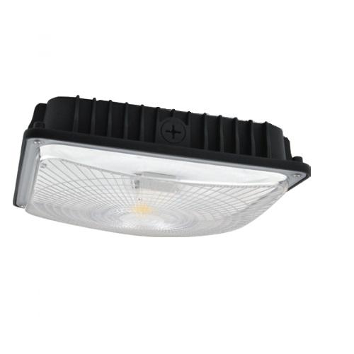 42W LED Slim Canopy Lights, White Finish, 5000K