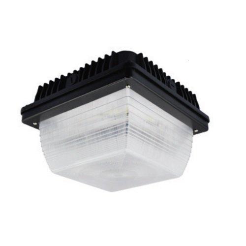 59W 5000K Slim LED Canopy Light with Sensor, White