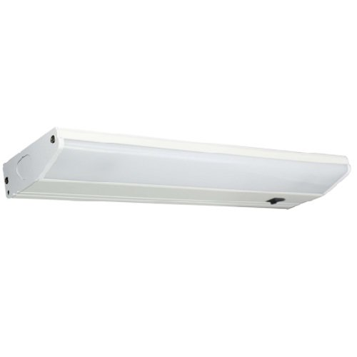 7W 18in LED Flush Mount Under Cabinet Fixture, 4000K, Dimmable