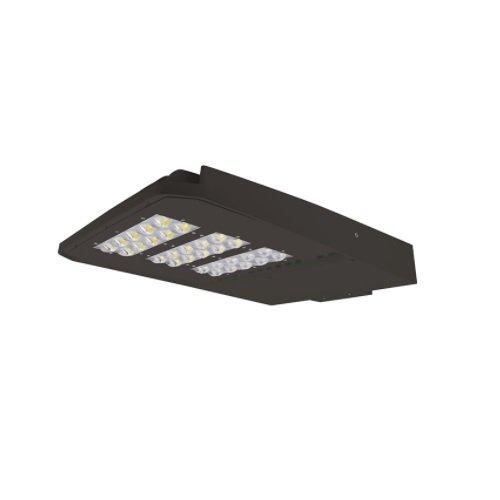 240W 5000K LED Slim Area Light, Dark Bronze, Type III