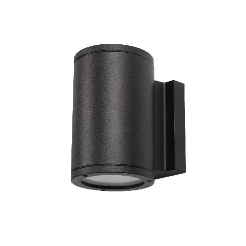 25W LED Wall Light, 100W Inc. Retrofit, 1700 lm, 3000K, Black