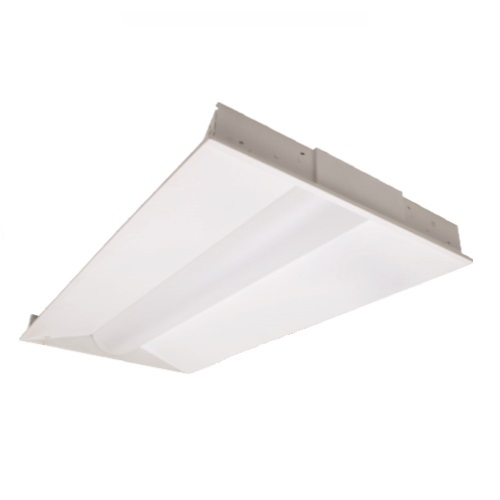 1 X 2 Led Light Fixture: NaturaLED 30W 2' X 4' LED Troffer Light Fixture, Dimmable