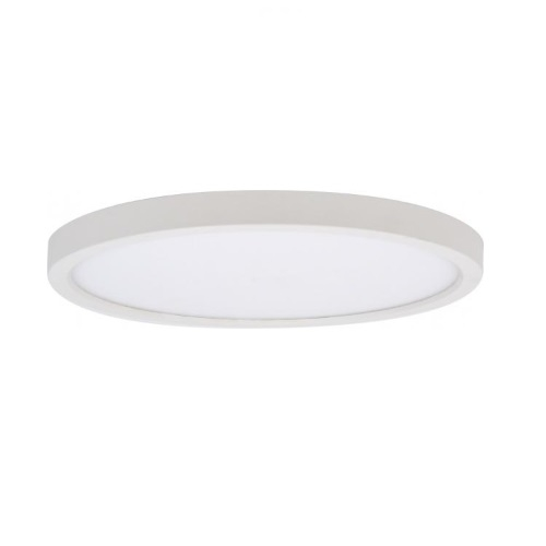 15W LED Flush Mount Disk Light, Dimmable, 900 lm, 3000K-5000K