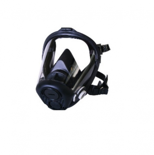 Full Facepiece w/ 5 Point Head Strap, Large