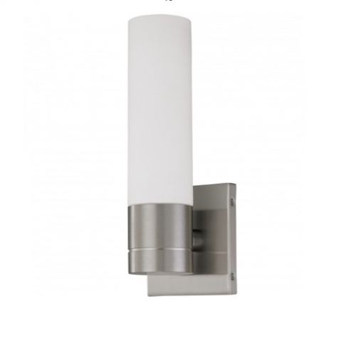 Link Wall Sconce Light w/ GU24 Lamp, 1-light, Brushed Nickel