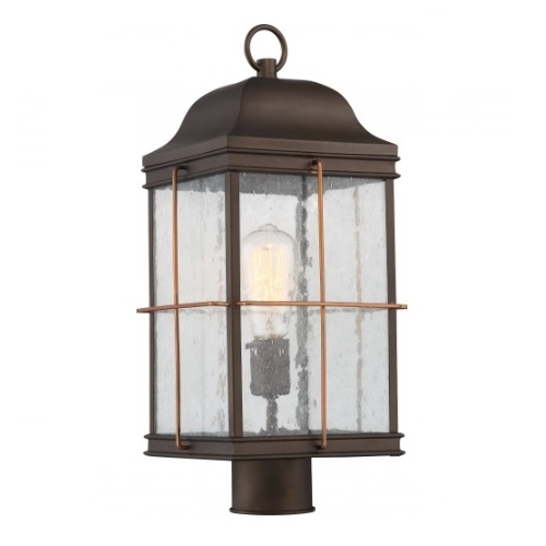 Nuvo 60w Howell Outdoor Post Light Lantern Vintage Lamp Included
