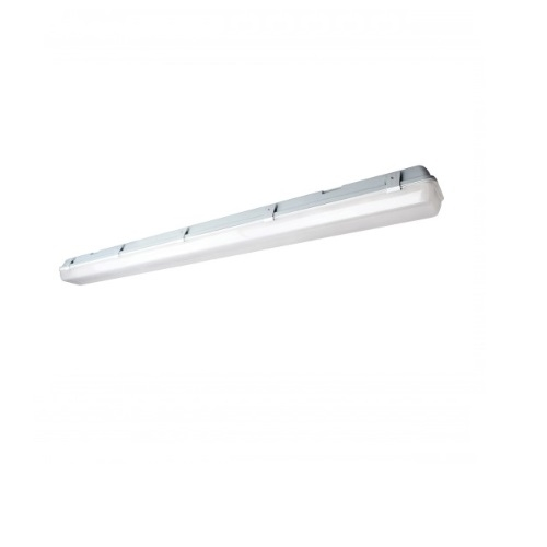 58W LED Vapor Tight Linear Fixture w/ Occupency Sensor, White