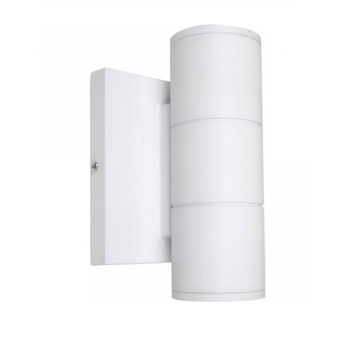 10W LED Small Wall Sconce, Up/Down, White
