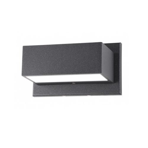 Urbino LED Outdoor Rectangular Light Fixture, Anthracite